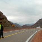 Volcaron turistas en la Ruta 68