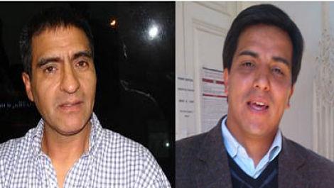 Fernando Almeda y Sebastián Aguirre Astigueta