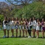 Todo listo: La fiesta y las candidatas a Reina de los Estudiantes