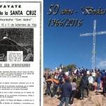 Celebración por los 50 años de la Cruz del cerro San Isidro