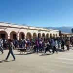 Desde San Carlos partieron 350 peregrinos