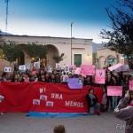 En Cafayate también marcharon contra la violencia de género y femicidios