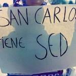 Por la falta de agua en San Carlos amenazan con no dejar entrar turistas