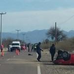Gravísimo accidente en la ruta 40 entre Animaná y Cafayate