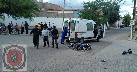 Otro herido grave tras un choque en Cafayate