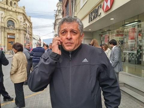 Carlos Rodas, Secretario General de la Asociación Bancaria de Salta