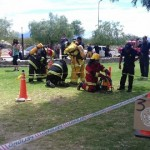 Encuentro de bomberos en Cafayate