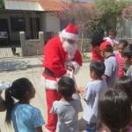 Papá Noel recorrió Cafayate