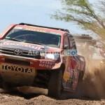 Vibrante paso del Dakar por el Valle Calchaquí