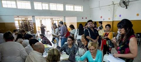 Las titularizaciones en la primera jornada. Foto El Tribuno/Juan Barthe