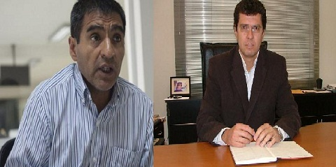 Fernando Almeda y Javier Matus