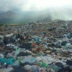 Peligro ambiental: colapso total en el vertedero de residuos del consorcio del Valle Calchaquí