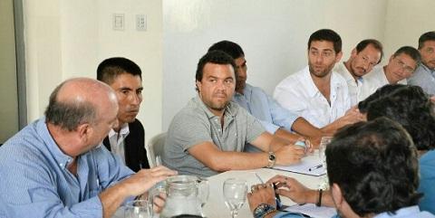 Las autoridades provinciales nada dijeron durante la reunión  sobre el faltante de fondos y de la posibilidad de una onvestigación