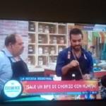 Cafayateño cantor y chef en la TV Pública