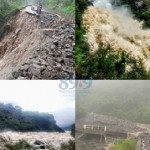 Fuertes crecientes y desbordes en la ruta a Tafí del Valle
