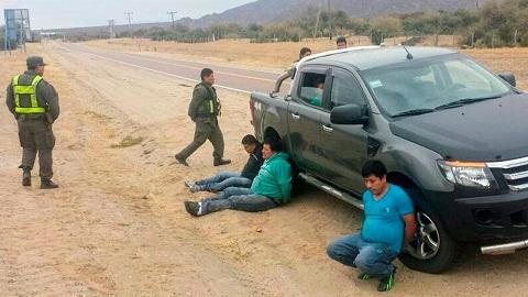 Los detenidos en la Ruta 40 en el límite entre Salta y Tucumán