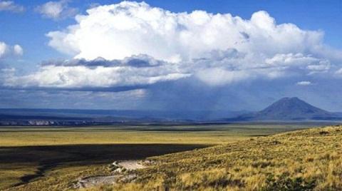 Ruta 40- Mendoza- Entre El Sosneado (San Rafael) y Pareditas (San Carlos)- Mendoza