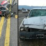 Murió un motociclista tras un choque en la Ruta 40