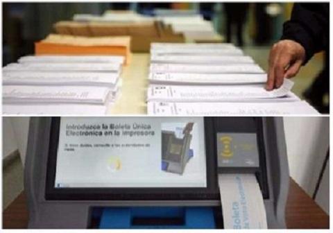 Como ser la votaci n en las paso con dos urnas radio - Biombo de carton ...