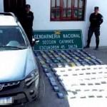 En lo que va de 2017 se secuestraron en Cafayate más de 231 kilos de cocaína