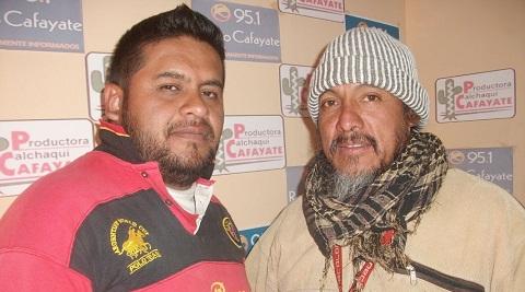 """Silvio Aguirre y Néstor """"Gallo"""" Gómez"""