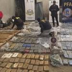 Secuestran más de mil kilos de cocaína que salieron de Cafayate