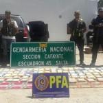 Secuestraron 100 kilos de drogas en Cafayate