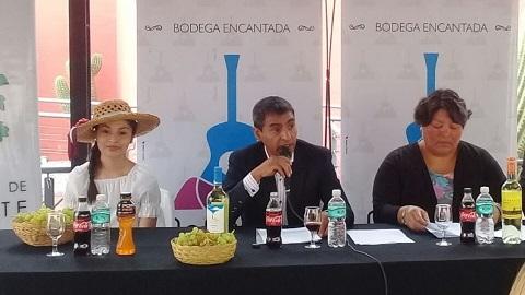Celeste Gerónimo en la presentación de la Serenata a Cafayate 2018