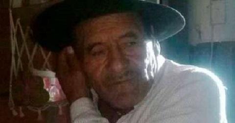 Foto del abuelo perdido difundida por la Policía de Salta