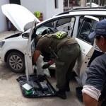 Detuvieron en la Ruta 68 a una mujer con más de 40 kilos de cocaína
