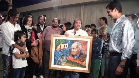 Homenaje a Arnaldo Etchart con la presencia de Urtubey