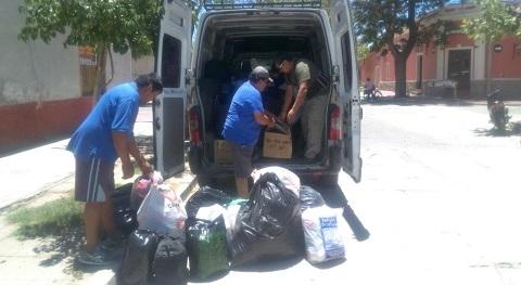 El enorme corazón solidario de Cafayate envía ayuda a los inundados del norte