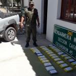Traían a Cafayate más de 34 kilos de cocaína y fueron descubiertos