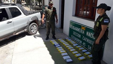 0 cafayate cocaina gendarmeria