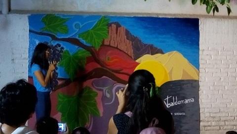 Los Murales de la Serenata ya visten el predio