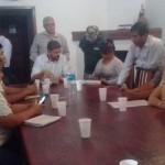 Nueva reunión de postulantes de la nueva urbanización con autoridades