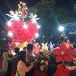 Numeroso y colorido desfile en honor a Nuestra Señora del Rosario