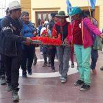 Emotiva llegada de peregrinos a Cafayate