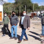 La Provincia supervisó la construcción de 20 viviendas en Animaná