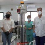 Donaron un equipo de rayos UVC para el Hospital Cafayate