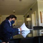 Sáenz anunció obras de agua para Cafayate, Tolombón y el Departamento San Carlos