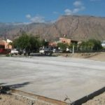Avanza la construcción en Cafayate de un centro modular sanitario