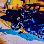 Cuatro personas heridas en accidente con moto en San Carlos
