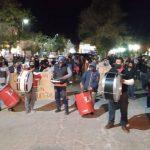 Nueva marcha de vecinos del loteo Finca El Socorro II por las obras faltantes