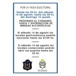 Medidas y restricciones por la veda electoral en Cafayate