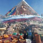 Cafayate celebró el día internacional de la Pachamama