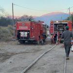 Se desató un incendio de cerca de 3 manzanas en Pueblo Nuevo este Domingo