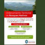 Este lunes se realizará el primer Taller Participativo de Ordenamiento Territorial de Bosques Nativos en Cafayate