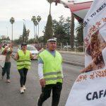 Llenos de emoción peregrinos de Cafayate llegaron a la Catedral de Salta