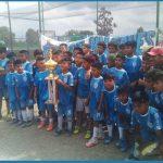 El equipo infantil de fútbol Los Halcones salieron campeones en la Copa Salta la Linda